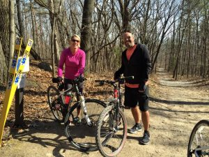 dave and sindy biking stoney