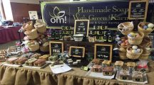 OM Handmade Soap made with Green Karma